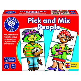 Pick and Mix People Game