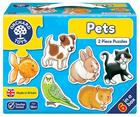 Pets - 2 piece puzzles