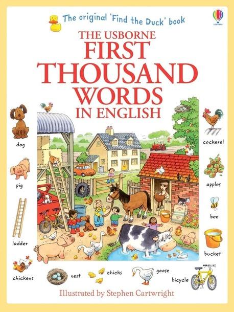 First thousand words in English - słownik obrazkowy dla dzieci (1)