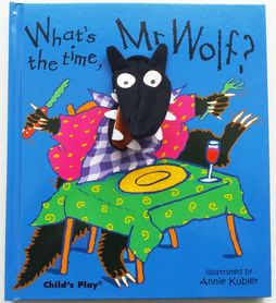 What's the Time, Mr Wolf? (Finger Puppet Book)
