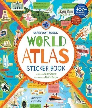 World Atlas Sticker Book (1)