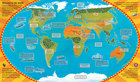 World Atlas Sticker Book (2)
