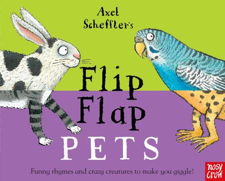 Axel Scheffler's Flip Flap Pets - książka dla dzieci po angielsku (1)
