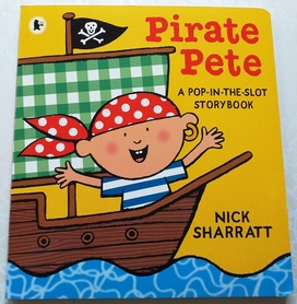 Pirate Pete - A pop-in-the-slot storybook