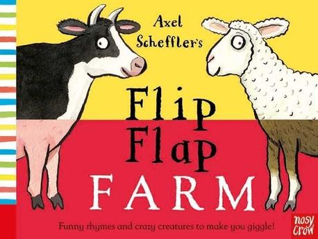 Axel Scheffler's Flip Flap Farm - książka anglojęzyczna dla dzieci (1)