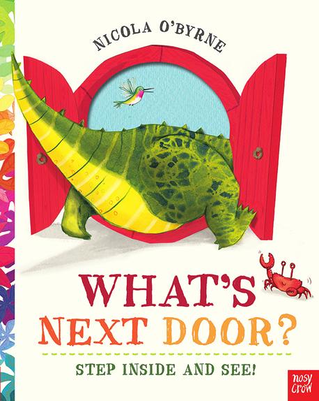 What's Next Door? Step inside and see! - książka dla dzieci po angielsku (1)