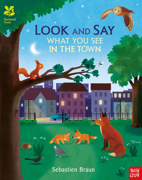Look and Say - What You See in the Town - książka anglojęzyczna dla dzieci (1)