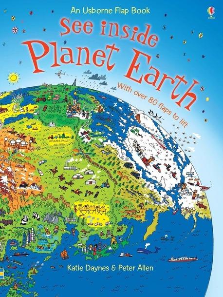 See inside Planet Earth - książka anglojęzyczna dla dzieci (1)