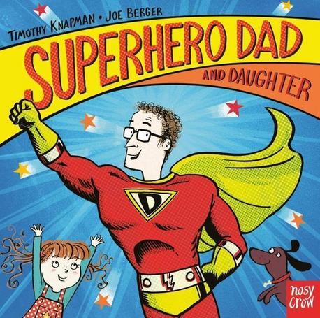 Superhero Dad and Daughter - książka anglojęzyczna dla dzieci (1)