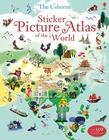 Sticker Picture Atlas of the World - książka anglojęzyczna dla dzieci (1)