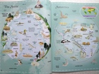 Sticker Picture Atlas of the World - książka anglojęzyczna dla dzieci (4)