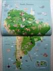 Sticker Picture Atlas of the World - książka anglojęzyczna dla dzieci (3)