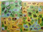 Sticker Picture Atlas of the World - książka anglojęzyczna dla dzieci (6)
