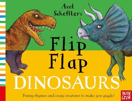 Axel Scheffler's Flip Flap Dinosaurs - książka dla dzieci po angielsku (1)