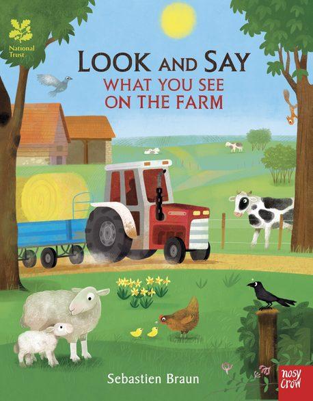 Look and Say - What You See on the Farm - książka dla dzieci po angielsku (1)