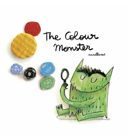 The Colour Monster - paperback (1)
