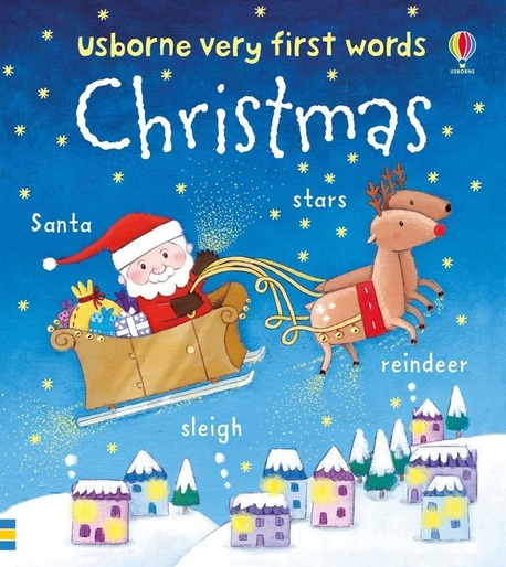 Christmas - Very First Words ( mini board book ) (1)