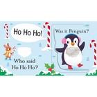 Who Said Merry Christmas? - książeczka z elementami sensorycznymi i okienkami (2)