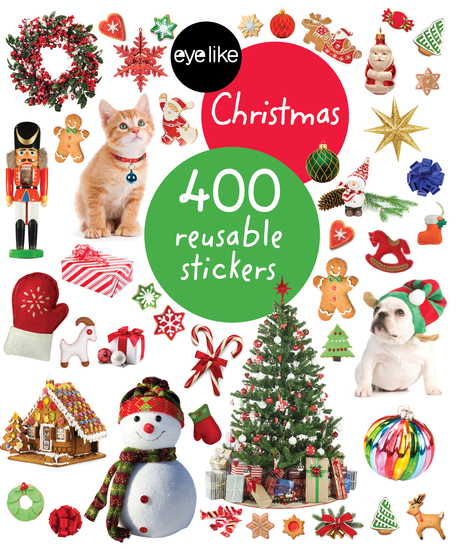 Eyelike Stickers: Christmas (1)