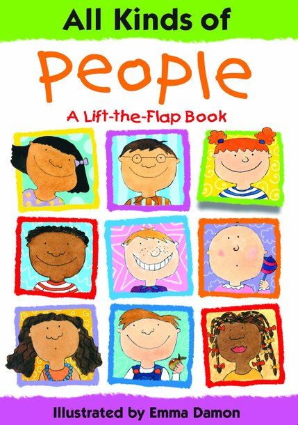 All Kinds of People - A Lift-the-Flap Book (1)