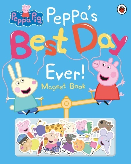 Peppa Pig: Peppa's Best Day Ever - Magnet Book (1)