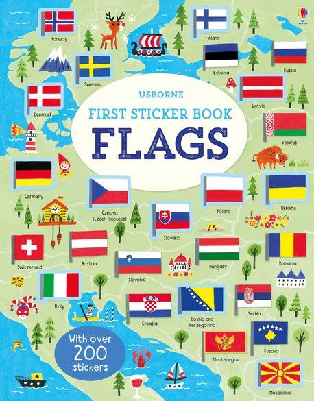 First Sticker Book Flags (1)