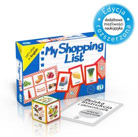 My Shopping List - gra językowa z polską instrukcją i suplementem