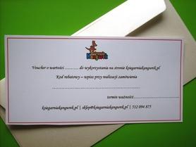 Karta prezentowa o wartości 50zł