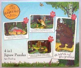 The Gruffalo - puzzle 4w1
