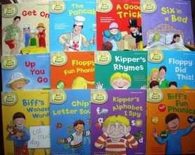 Read with Biff, Chip & Kipper, poziom 1
