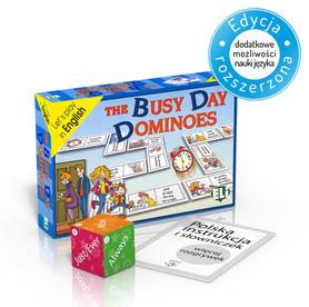 The Busy Day Dominoes - gra językowa z polską instrukcją i suplementem