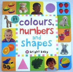 Colours, numbers and shapes - lift-the-flaps books