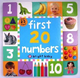 First 20 numbers - lift-a-flap book