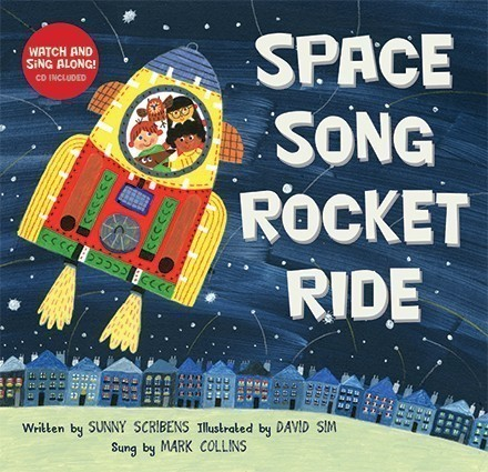 Space Song Rocket Ride + CD (1)