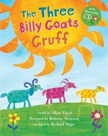 The Three Billy Goats Gruff + story CD