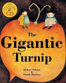 The Gigantic Turnip + story CD