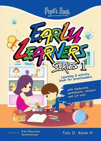 Early Learners Series 1 - Learning and activity book for preschoolers