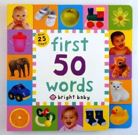 First 50 words - lift-the-flap book
