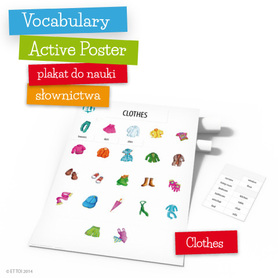 Vocabulary Active Poster - Clothes