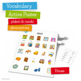 Vocabulary Active Poster - House