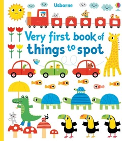 Very first book of things to spot