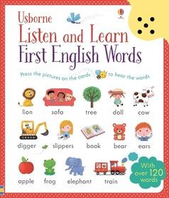 Listen and Learn First English Words - książka z panelem dźwiękowym