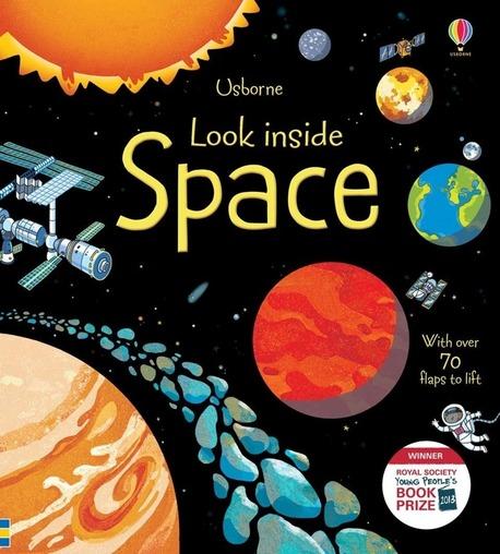 Look inside Space - książka dla dzieci po angielsku (1)