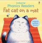 Fat cat on a mat - Usborne Phonics Readers