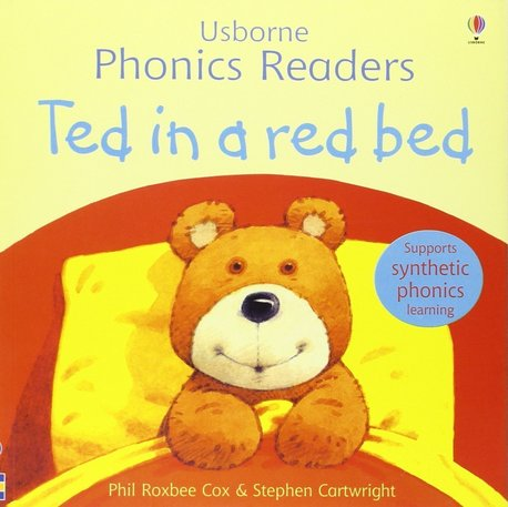 Ted in a red bed - Usborne Phonics Readers (1)