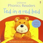 Ted in a red bed - Usborne Phonics Readers