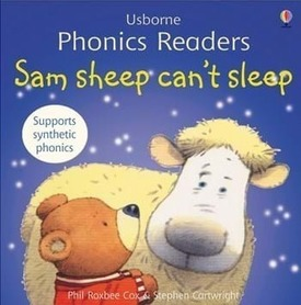 Sam sheep can't sleep - Phonics readers