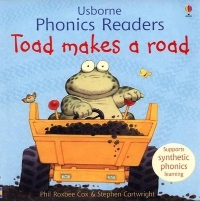 Toad makes a road - Usborne Phonics Readers (1)