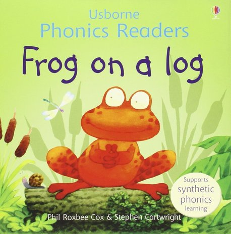 Frog on a log - Usborne Phonics Readers (1)