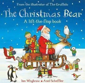 The Christmas Bear - a lift-the-flap book